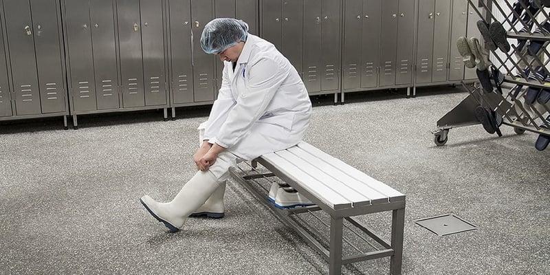 Reinigungseinrichtungen für Stiefel nach dem BRC-Standard
