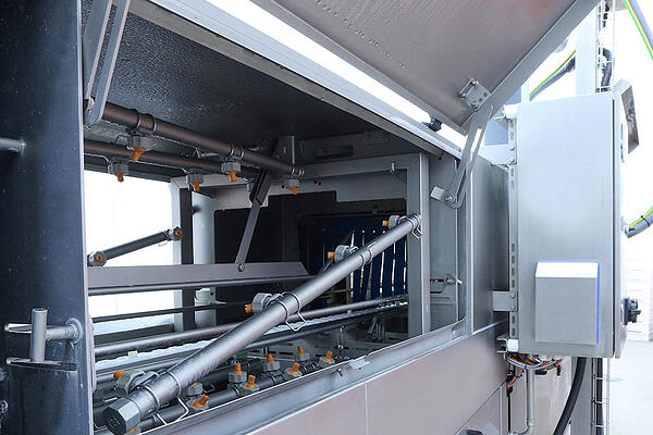 Is it possible to increase the capacity of the crate washer at a later date?