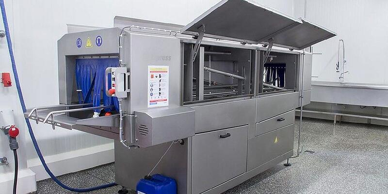What should you consider when buying a crate washer?