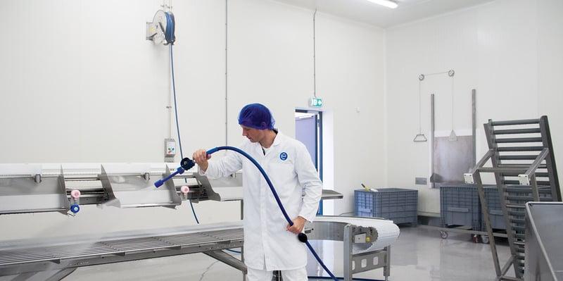 Open Plant Cleaning: eine Komplettlösung für hygienische Betriebsräume