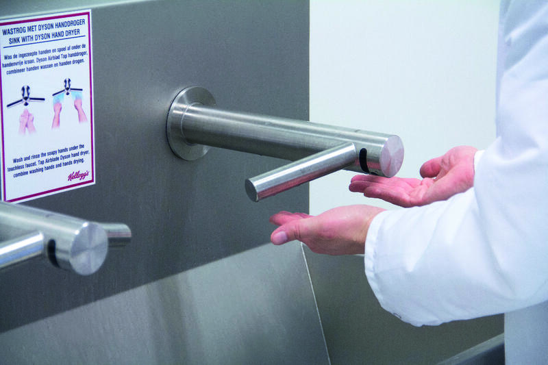 Guidelines for hand hygiene in the food industry