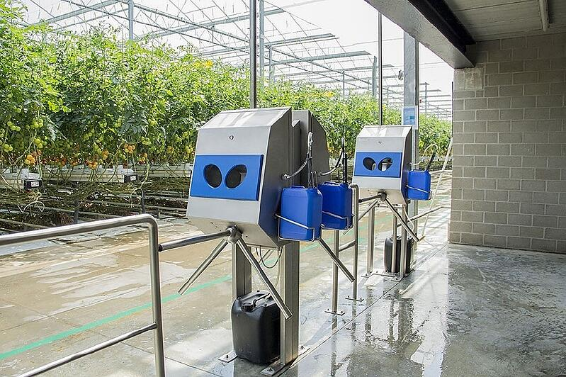 The right setup for good personal hygiene in the greenhouse horticulture sector